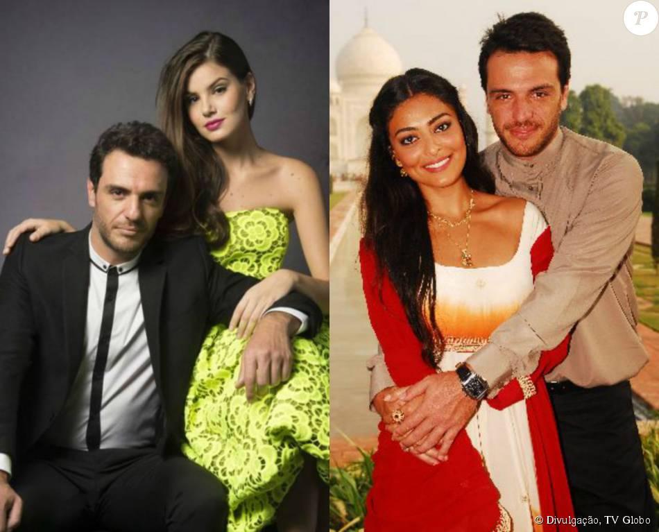 Rodrigo Lombardi se destaca na TV como o sedutor Alex, em 'Verdades Secretas', e volta a aparecer no papel de Raj, em 'Caminho das Índias'