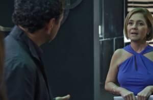 'Babilônia': Inês vai estapear Aderbal ao flagrar o amante com Helô