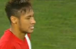 Neymar faz golaço em jogo beneficente organizado pelo colega de Barcelona Messi