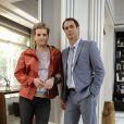 Niko (Thiago Fragoso) e Eron (Marcello Antony) formam um casal gay em 'Amor à Vida'