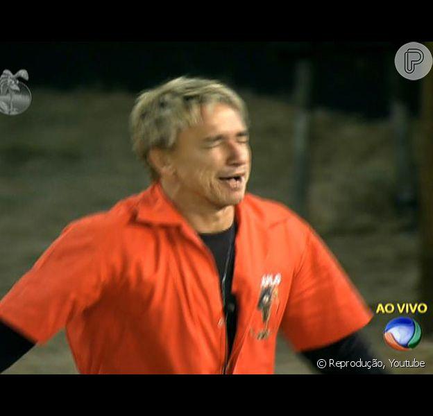 Paulo Nunes vence a prova e é o Fazendeiro da semana, em 14 de julho de 2013