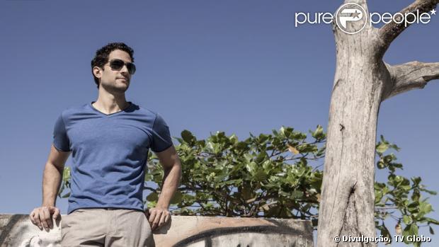 Fernando Belo deu uma entrevista ao site de 'Saramandaia', veiculada nesta terça-feira, 16 de julho de 2013