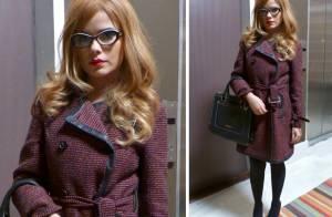 Aline (Vanessa Giácomo) aparece disfarçada com peruca loira em 'Amor à Vida'
