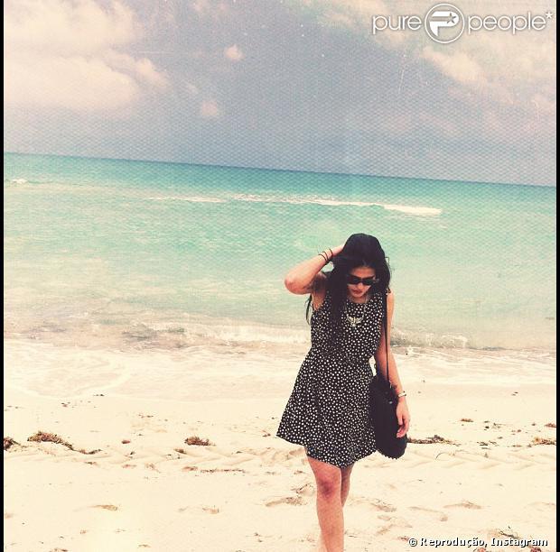 Antonia Morais está de férias em Miami, nos Estados Unidos, e publicou uma série de fotos das belas praias da cidade em sua conta do Instagram, nesta quinta-feira, 18 de julho de 2013