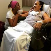 Gaby Amarantos cuida da mãe com câncer na UTI: 'Feliz em fazer o melhor por ela'
