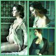 Mina é a primeira filha da atriz. O nascimento do bebê está previsto para setembro