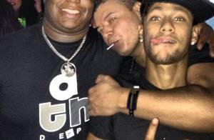 Neymar curte baile funk com seu segurança e David Brazil no Rio de Janeiro