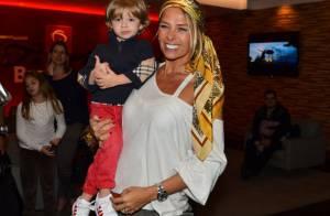 Adriane Galisteu vai comemorar três anos de Vittorio em festa para 300 pessoas