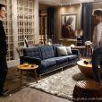 Félix (Mateus Solano) chegou a ir no apartamento do Anjinho (Lucas Malvacini), no reencontro deles em 'Amor à Vida'