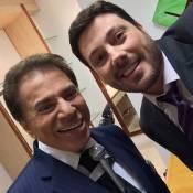 Silvio Santos questiona Danilo Gentili: 'Você é homem ou é bicha?'