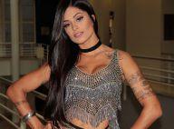 Aline Riscado volta ao 'Domingão' após um ano como jurada do 'Dança dos Famosos'