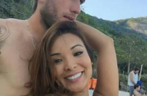 Carol Nakamura assume namoro com jogador do Vasco, Aislan Lottici: 'Muito feliz'