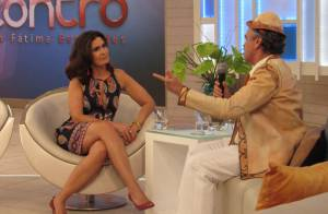 Fátima Bernardes grava participação como ela mesma em 'I Love Paraisópolis'