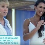 Xuxa sobre corpo musculoso de Gracyanne Barbosa: 'Lembra homem e eu gosto'