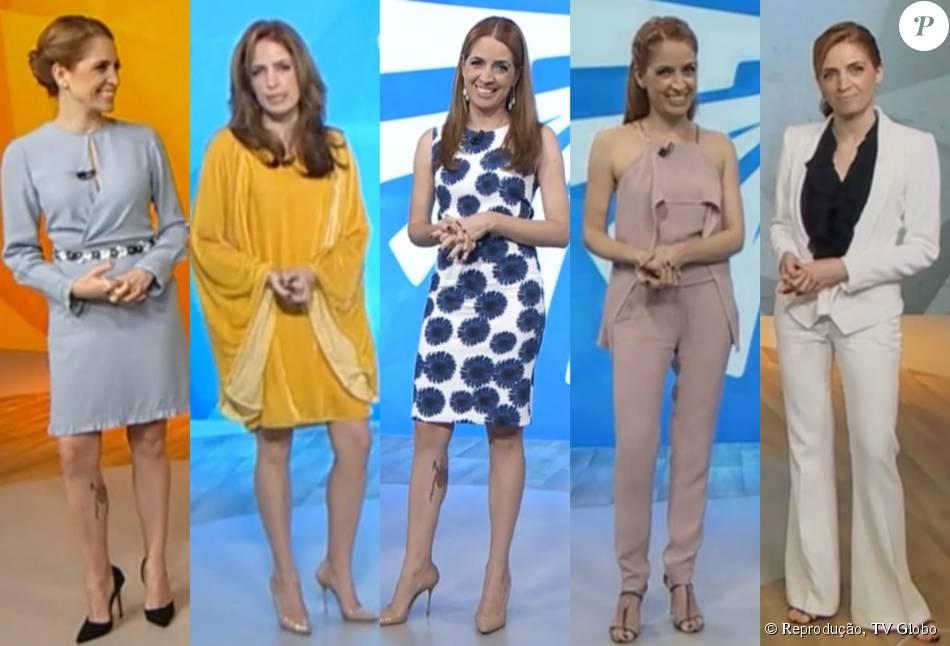 Poliana Abritta Completa Um Ano No Fantástico Veja Looks