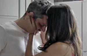 Novela 'A Regra do Jogo': Romero se declara apaixonado e rouba beijo de Toia