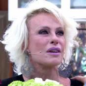 Ana Maria Braga chora ao encontrar homem salvo por dica do 'Mais Você'