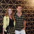 O casal esteve no show da Madonna no Brasil
