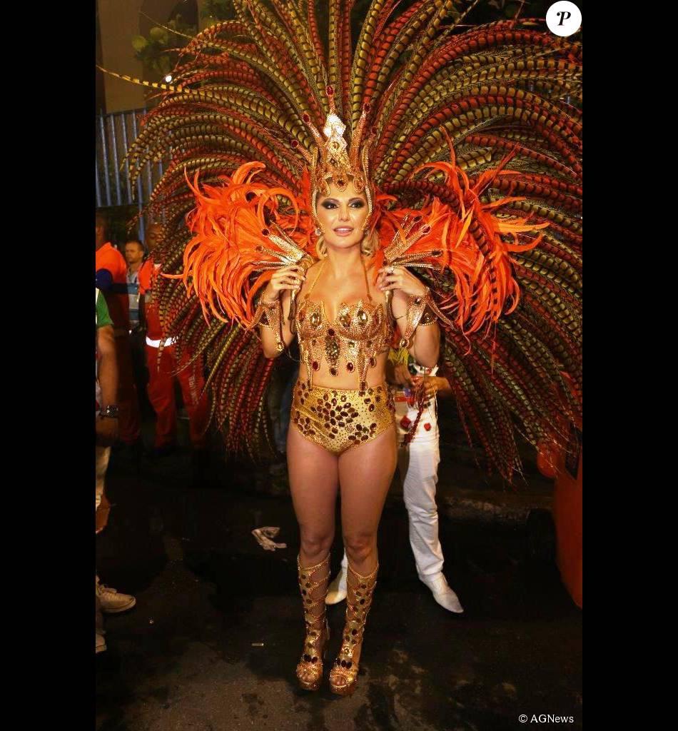 Antonia Fontenelle será rainha de bateria da Caprichosos de Pilares no Carnaval 2016 do Rio de Janeiro
