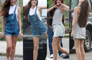 Camila Queiroz posa com look casual para editorial de moda no Rio. Veja fotos!