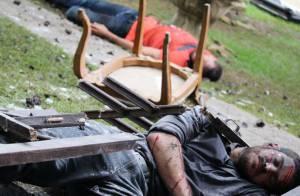 'A Regra do Jogo': Juliano sequestra Dante e o policial quase morre em explosão