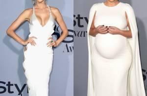 Alessandra Ambrosio e Kim Kardashian arrasam em evento de moda. Veja looks!