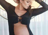 Deborah Secco comenta ganho de peso na gravidez: 'Agora posso ficar gordinha'