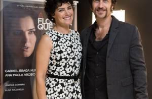 Ana Paula Arósio comenta beijo em Gabriel Braga Nunes no filme: 'Conseguimos'
