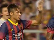 Neymar marca primeiro gol pelo Barcelona em amistoso contra a Tailândia