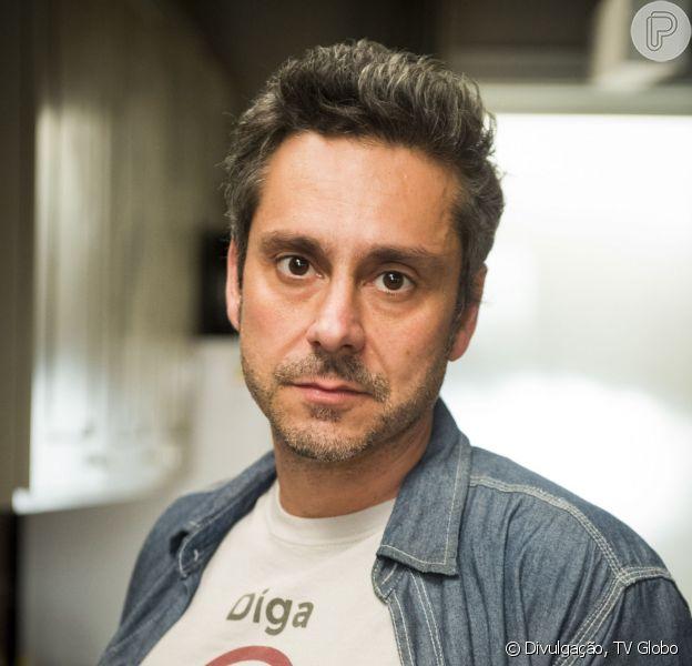 Alexandre Nero falou sobre postura exigente da diretora da novela 'A Regra do Jogo', Amora Mautner