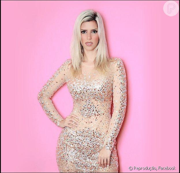Thábata Mendes é conhecida pelo apelido de Barbie, revelou seu ex-namorado, o cantor Giannini Alencar, para a coluna 'Retratos da Vida', do jornal 'Extra', desta quinta-feira, 29 de outubro de 2015