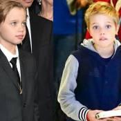 Shiloh, filha de Angelina Jolie e Brad Pitt, muda visual e adota cabelos curtos