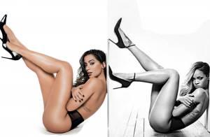 Anitta é alvo de críticas ao repetir pose de Rihanna em foto para revista