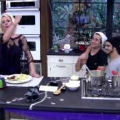 Caio Castro cozinha macarrão no 'Mais Você' e Ana Maria Braga aprova: 'Saboroso'