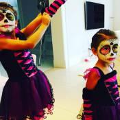 Famosos fantasiam seus filhos para comemorar o Halloween. Veja fotos!