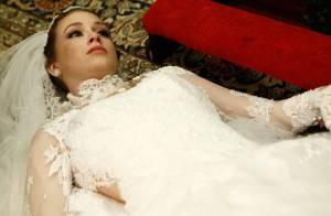 'Amor à Vida': veja fotos de Nicole (Marina Ruy Barbosa) após morte na igreja