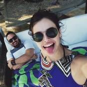 Agatha Moreira comemora 3 anos de relacionamento: 'Eu que pedi em namoro'