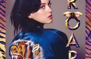 Katy Perry publica foto da capa do single 'Roar': 'Está na hora de miar'