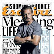 Sean Penn desabafa em entrevista sobre ser amado: 'Eu sinto que nunca vivi isso'