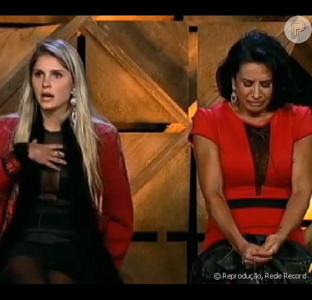 Scheila Carvalho foi eliminada de 'A Fazenda' na noite desta terça-feira, 13 de agosto de 2013