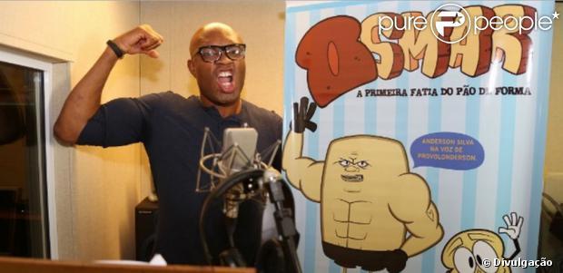 Anderson Silva vai estrear como dublador em 'Osmar - A Primeira Fatia do Pão de Forma'