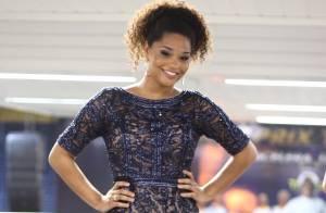 Juliana Alves prestigia eliminatórias dos sambas na quadra da Unidos da Tijuca