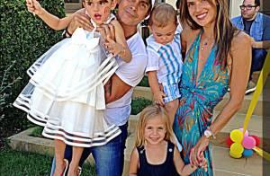 Alessandra Ambrósio comemora o aniversário de 5 anos da filha, Anja, nos EUA