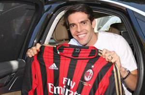 Kaká acerta com Milan até 2015 após quatro anos longe do clube italiano