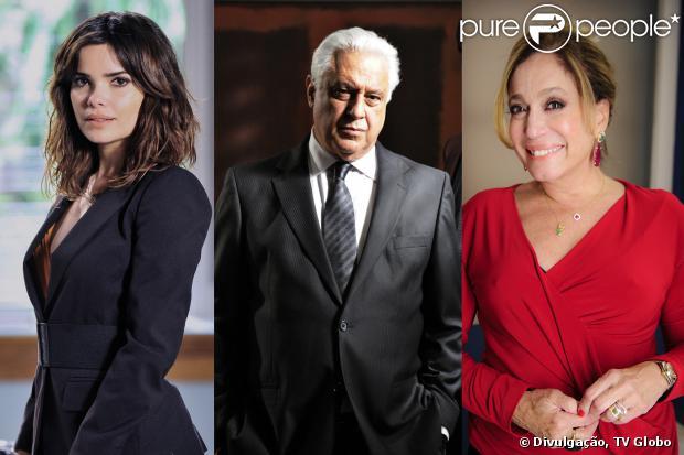 César (Antonio Fagundes) vai morar com Aline (Vanessa Giácomo) para causar um aborto na secretária e Pilar (Susana Vieira) será sua cúmplice, em 'Amor à Vida', em setembro de 2013