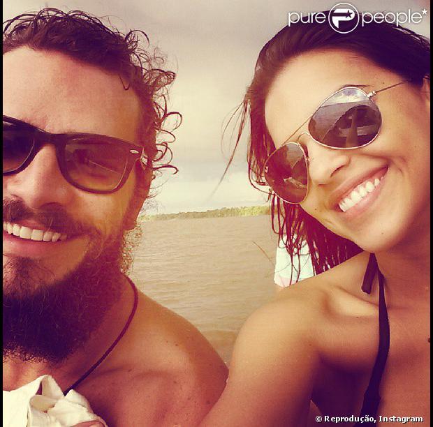 Mariana Rios negou romance com Daniel de Oliveira. Os atores rodaram o filme 'Órfãos do Sertão', no Pará