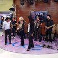 Afilhado artístico de Lisandra Souto, o cantor Paulinho Reis se apresentou no programa 'Mais Você' desta quarta-feira, 04 de setembro de 2013