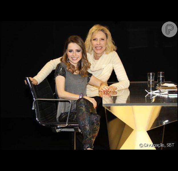 Sandy conversa com Marília Gabriela e fala sobre gravidez e casamento: 'Lá em casa está cada vez melhor'. O programa será exibido no SBT, no dia 8 de setembro de 2013