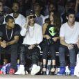 Justin Bieber acompanhou os desfiles na primeira fila