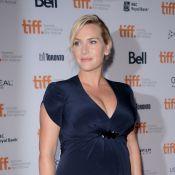 Festival de Toronto: Kate Winslet exibe barrigão de seis meses em première